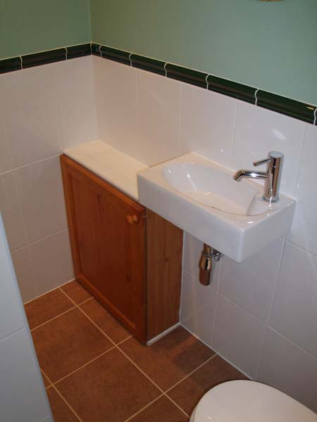 bathroom fitted understairs  u2013 grosvenor buiders